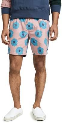Barney Cools Rose Hibiscus Amphibious 17 Shorts