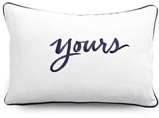 Kate Spade Yours Rectangular Pillow