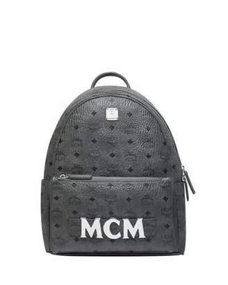 MCM Stark Trio Studded Backpack