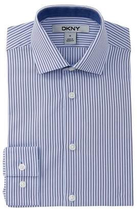 DKNY Striped Dress Shirt (Big Boys)