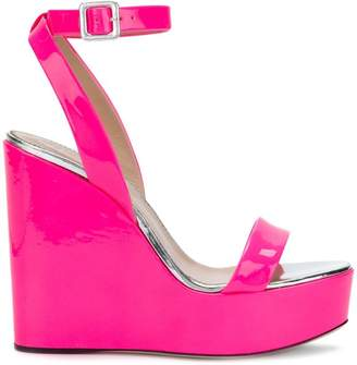 Giuseppe Zanotti Design Gipsy Alien wedge sandals