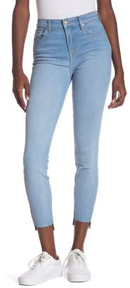 7 For All Mankind Gwenevere High Waist Step Hem Ankle Jeans