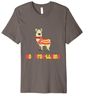 No Prob-Llama Premium Tshirt