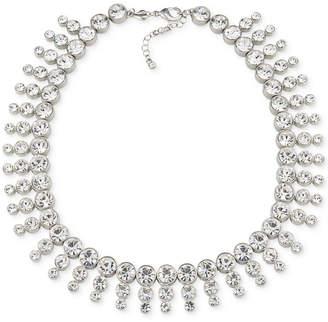 Carolee Silver-Tone Collar Necklace
