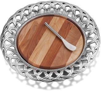 Wilton Armetale Harvest Cheeseboard W Spreader