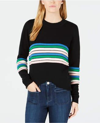 Maison Jules Novelty-Striped Sweater