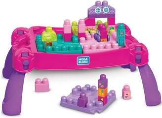 Mega Bloks Build & Learn Table - Pink
