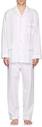 Barneys New York Men's Cotton Poplin Pajama Set