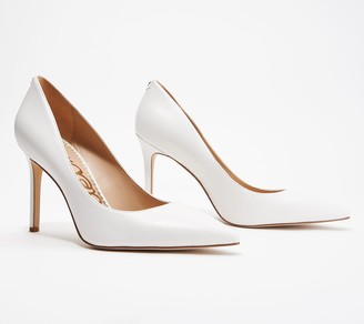 8955e20386 Sam Edelman White Pointed Toe Pumps - ShopStyle