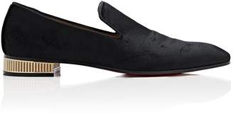 Christian Louboutin Men's Colonnaki Velvet Venetian Loafers