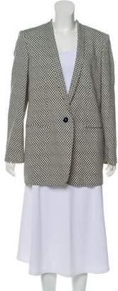 Stella McCartney Printed Shawl-Lapel Blazer