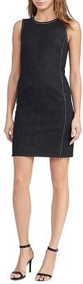 Lauren Ralph Lauren Denim Sheath Dress $125 thestylecure.com