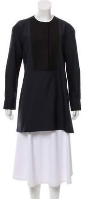 Calvin Klein Collection Contrast-Paneled Silk Tunic