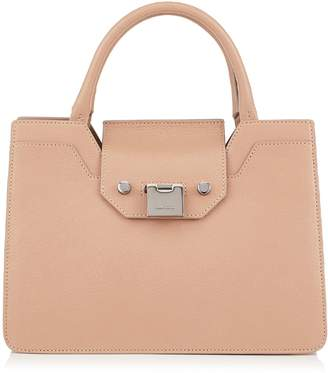 Jimmy Choo Rebel Small Leather Top Handle Tote