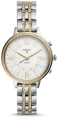 Fossil Hybrid Smartwatch - Jacqueline Two-Tone Stainless Steel