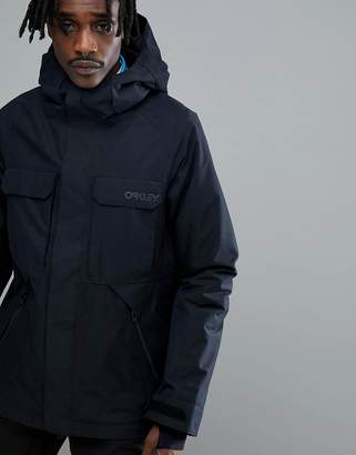 Oakley Snow Lookout Gore BZI Ski Jacket 2L Regular Fit in Black