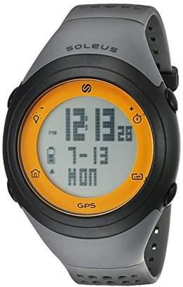 Soleus Unisex SG012-070 GPS Fly Digital Display Quartz Watch