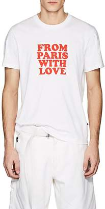 "Ami Alexandre Mattiussi Men's ""From Paris With Love"" Cotton T-Shirt"