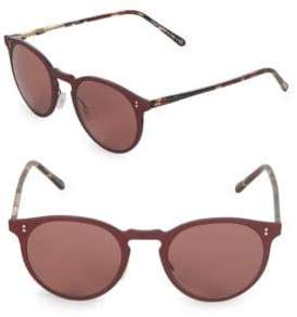 Oliver Peoples Elias 49MM Round Sunglasses