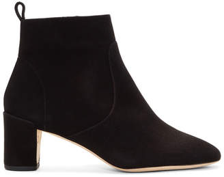 Repetto Black Suede Glawdys Boots