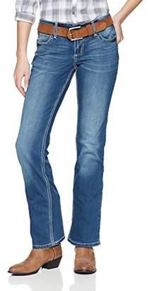 Wrangler Women's Retro Mid Rise Boot Cut Jean