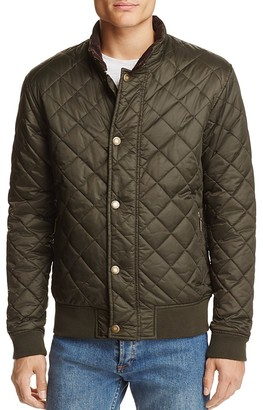 Barbour Moss Quilted Snap Jacket $249 thestylecure.com