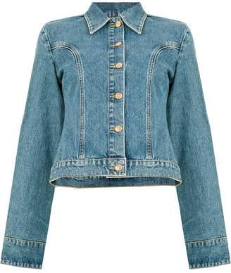 Aalto buttoned denim jacket