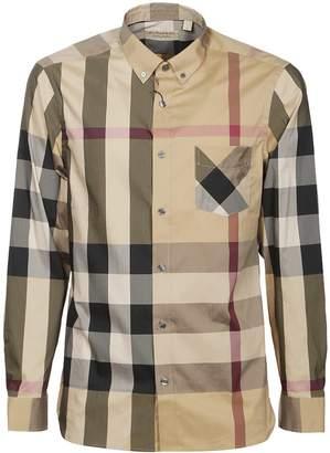 Burberry Checked Blend Shirt