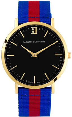 Larsson & Jennings Kulor Windsor large gold-plated watch 40mm