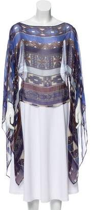 Alexis Silk Printed Top