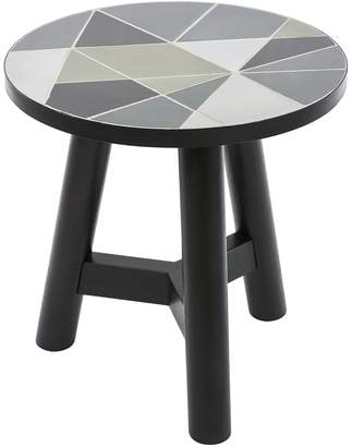 Vienna Woods Promotions Outdoor Side Table, Linear
