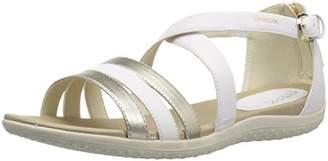 Geox Women's Vega 12 Flat Sandal
