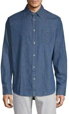 Rag & Bone Long-Sleeve Denim Shirt