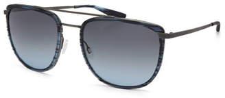 Barton Perreira Men's Lafayette Metal & Acetate Navigator Sunglasses