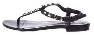 Balenciaga Studded Thong Sandals