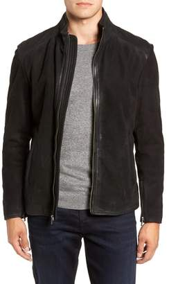 Moto FLYNT Regular Fit Leather Jacket