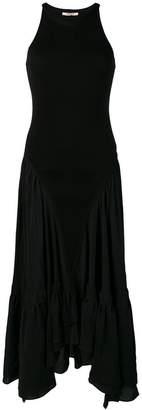 Roberto Cavalli flared maxi dress