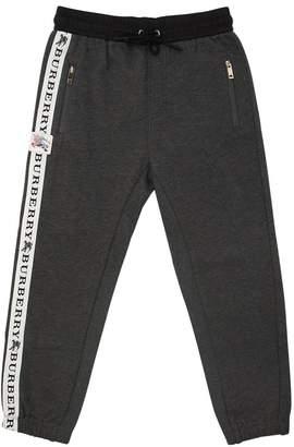 Burberry Logo Band Cotton Sweatpants