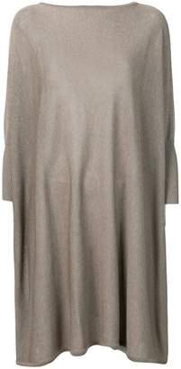 Sartorial Monk knitted jumper drape dress