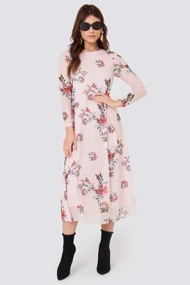 Rut & Circle Rut&Circle Long Sleeve Mesh Dress
