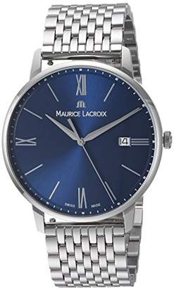 Maurice Lacroix Men's 'Eliros' Swiss Quartz Stainless Steel Casual Watch
