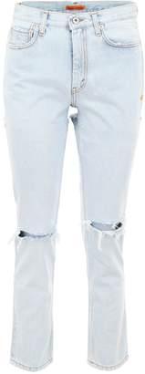 Heron Preston Cut-out Jeans