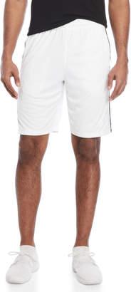 adidas White Tricot Basketball Shorts