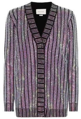 Gucci Crystal-embellished cardigan