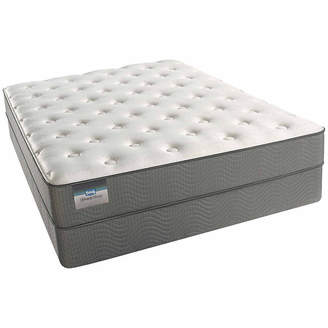 Simmons BeautySleep Alive Cushion Firm Tight-Top Memory Foam Mattress + Box Spring