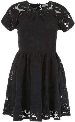 RED Valentino Floral Lace Dress