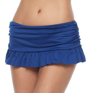 Apt. 9 Women's Solid Skirted Bikini Bottoms