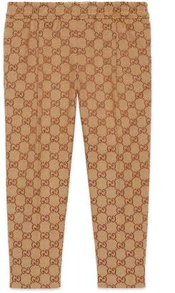 Gucci Children's GG canvas trousers