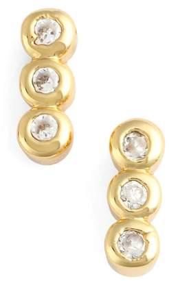 Jules Smith Designs Triple Bezel Stud Earrings