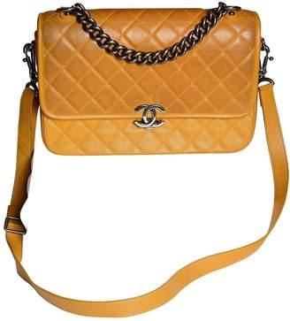 Chanel Camel Leather Handbag